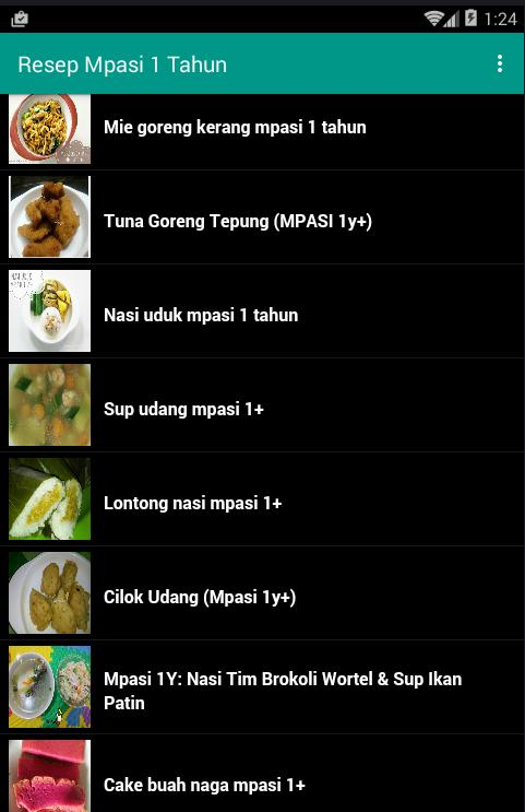 Resep Mpasi 1 Tahun For Android Apk Download