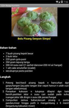 123+ Resep Kue Basah apk screenshot