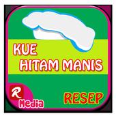 Resep Kue Hitam Manis 123+ icon