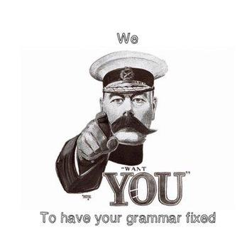 The Grammar Police poster