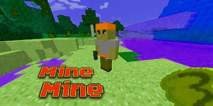 MOD Mine Mine for Minecraft poster
