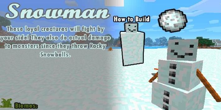 Mod Wintercraft Santa Visits for Minecraft for Android - APK