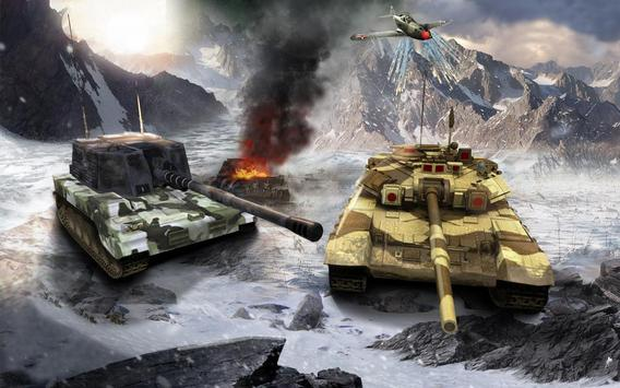 Heavy Army War Tank Driving Simulator : Battle 3D screenshot 1