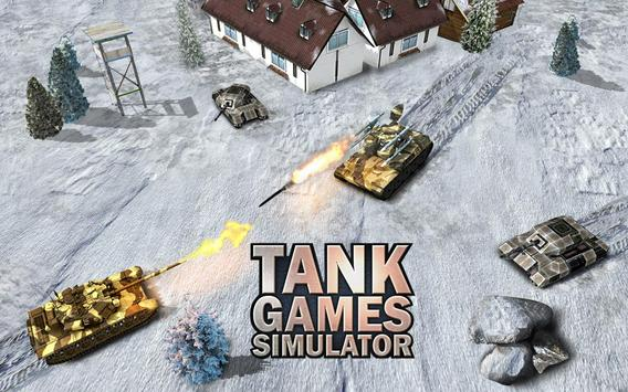 Heavy Army War Tank Driving Simulator : Battle 3D screenshot 5