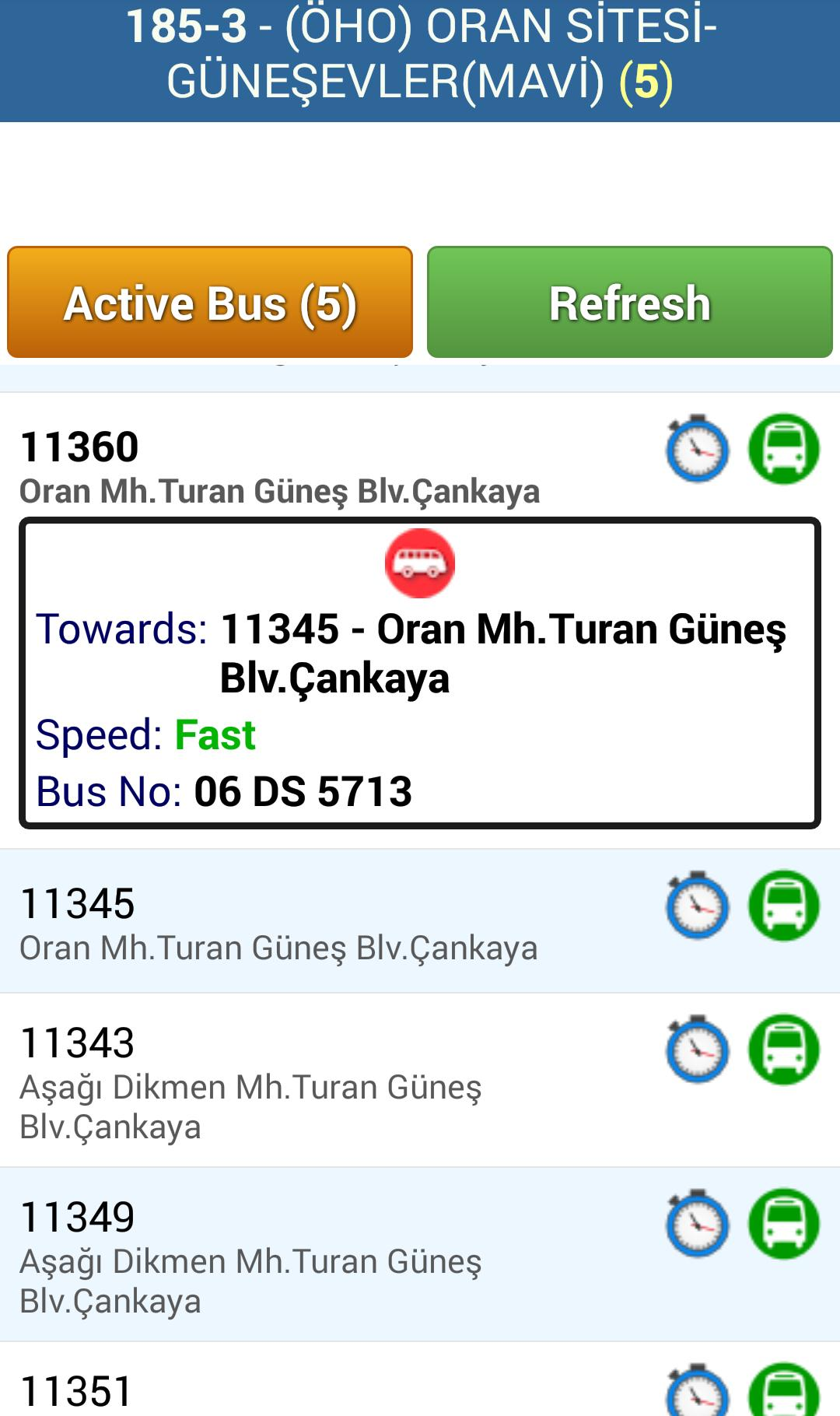 AnkaBus: Ankara Bus Tracker for Android - APK Download