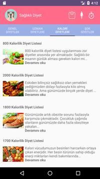 Sağlıklı Diyet apk screenshot