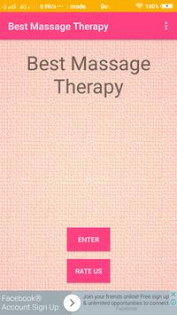 Best Massage Therapy poster