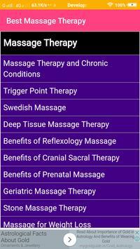 Best Massage Therapy screenshot 1