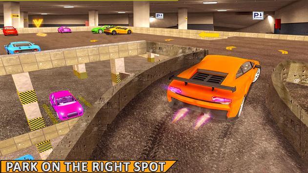 Multi Level Car Parking Simulator 3D screenshot 2