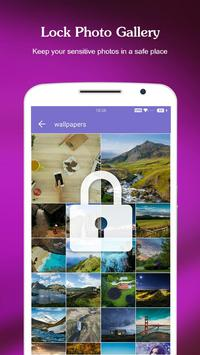 AppLock - Gallery Lock & LockScreen & Fingerprint apk screenshot