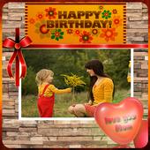Happy Birthday Mom frames icon