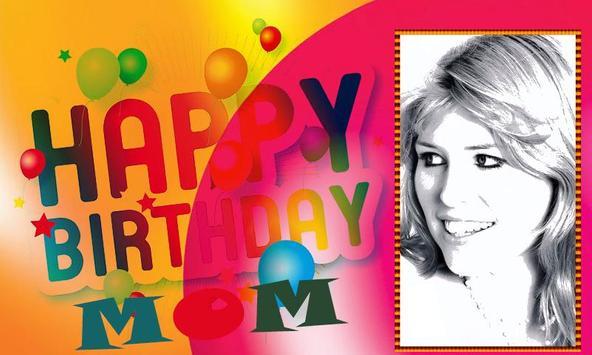 Happy Birthday Mom frames poster