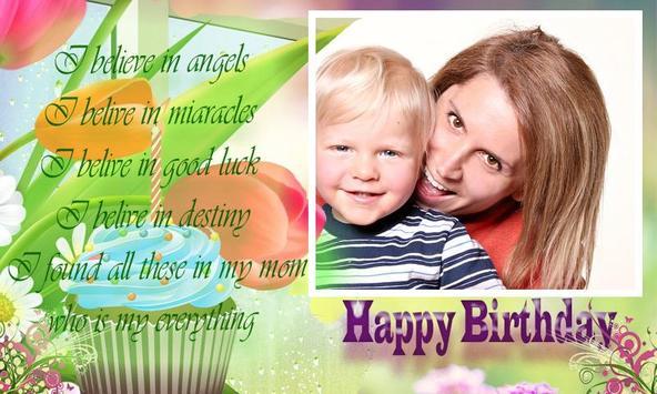 happy birthday mom frames apk screenshot - Mom Frames
