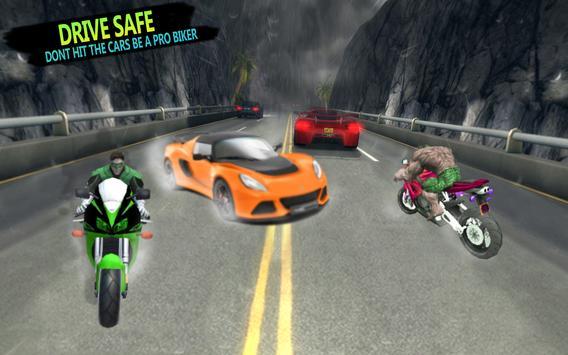 Superhero Stunts Bike Racing Games screenshot 1