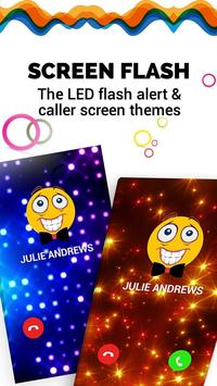Caller Theme Screen - Color Phone, Call Flash poster