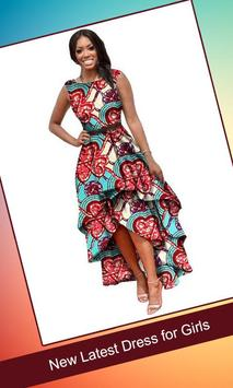 Latest African Fashion Dress Design poster