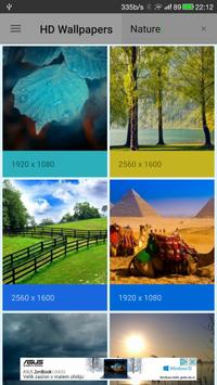 HD Wallpapers And Backgrounds For Your Phone apk screenshot