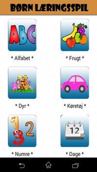 Danske Alfabet-Danish Alphabet poster