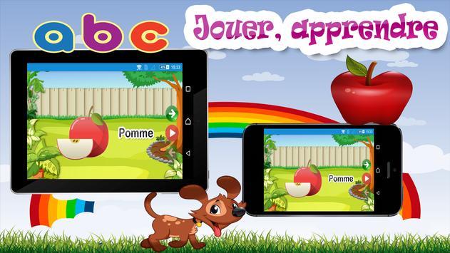 Enfants jeu d'apprentissage screenshot 1