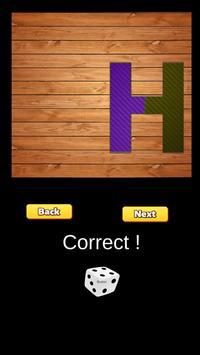 ABC puzzle poster