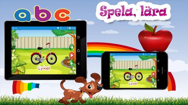 Barn lärande spel - Svenska screenshot 3