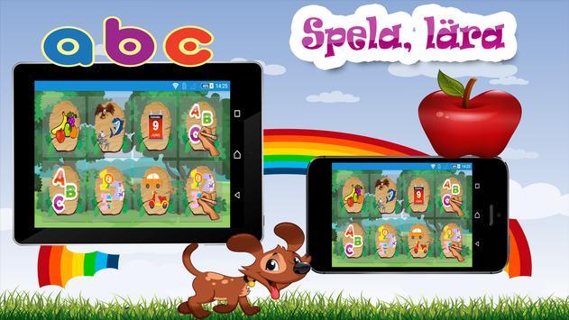 Barn lärande spel - Svenska screenshot 10