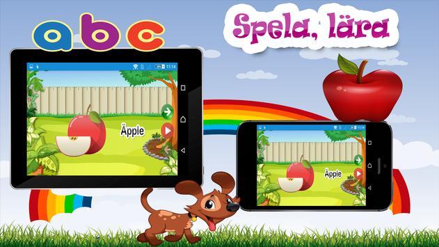 Barn lärande spel - Svenska screenshot 6