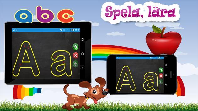 Barn lärande spel - Svenska screenshot 9
