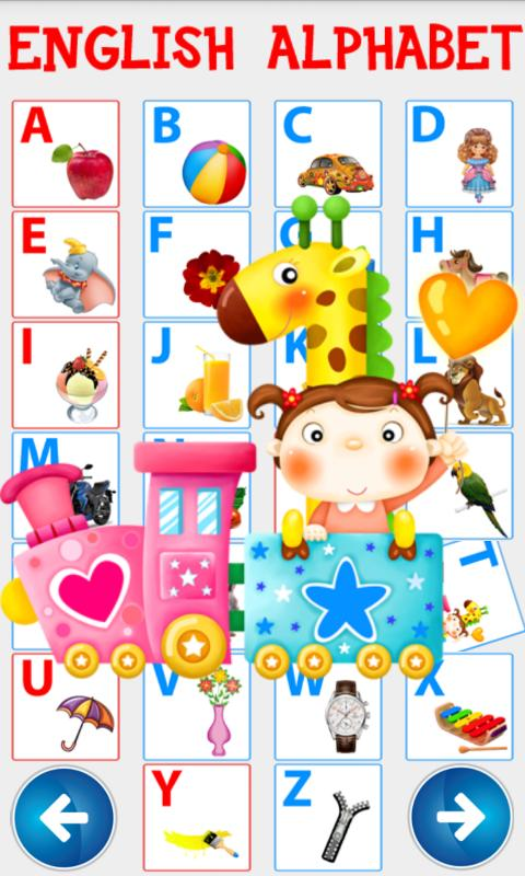 Игра Английский Алфавит онлайн для детей 3-4-5-6-7 лет ...