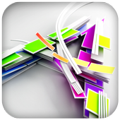 3D Alphabet Letter Wallpaper icon