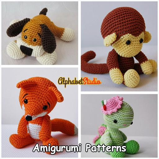 Amigurumi Today: free patterns & crochet tutorials for Android ... | 512x512