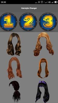 Hairstyle Changer screenshot 10