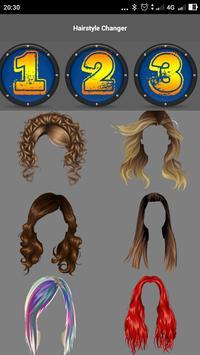 Hairstyle Changer screenshot 1