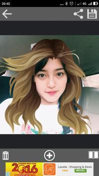 Hairstyle Changer screenshot 4