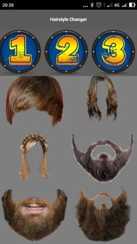 Hairstyle Changer screenshot 8