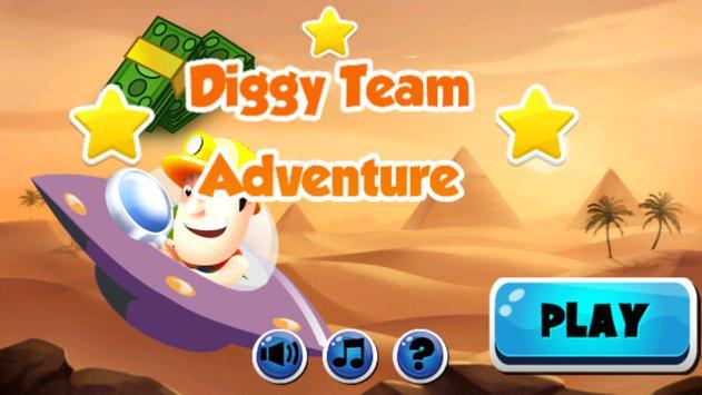 Digggy Team Adventure poster