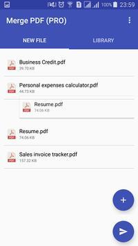 Merge PDF screenshot 1