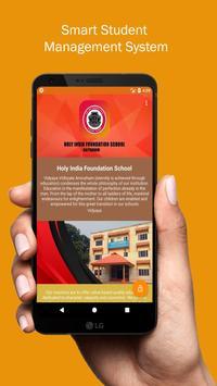 HolyIndiaSchool poster