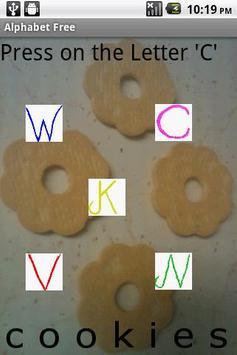 FDD kids alphabet play free poster