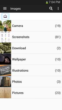 Gerenciador de arquivos imagem de tela 2