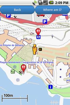 Monaco Amenities Map (free) poster