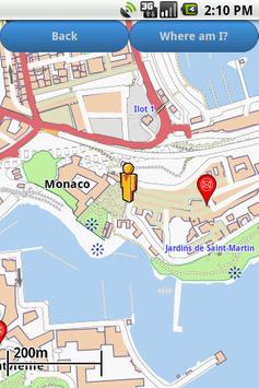 Monaco Amenities Map (free) apk screenshot