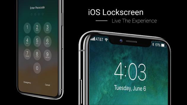 OS 11 Lockscreen poster