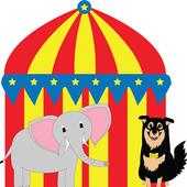 Animal Circus: PEEKABOO (Free) icon