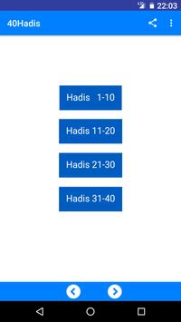 40 Hadis poster