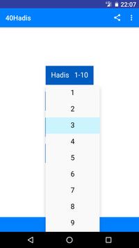 40 Hadis screenshot 1