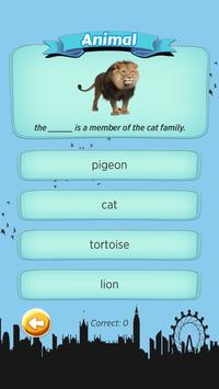 W Quiz English Beginner apk screenshot