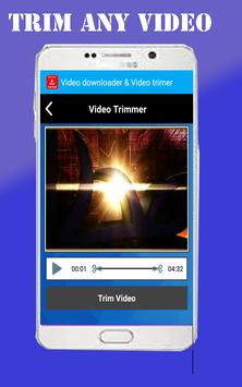 Video Downloader and trimmer screenshot 4