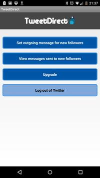 Direct Messages for Twitter poster