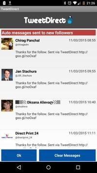 Direct Messages for Twitter apk screenshot